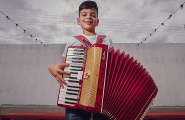 """Inauguração Escola de Sanfonas """"Raimundo do Mundico"""" – Dom Inocêncio"""